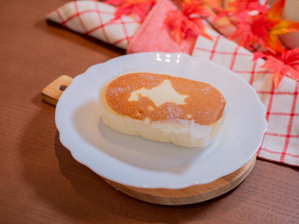 凍った北海道チーズケーキ蒸しパンの中身