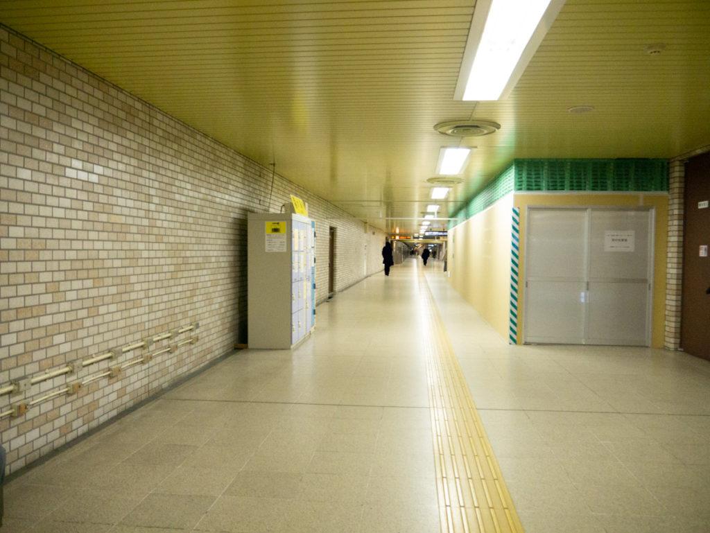 東豊線大通駅地下道