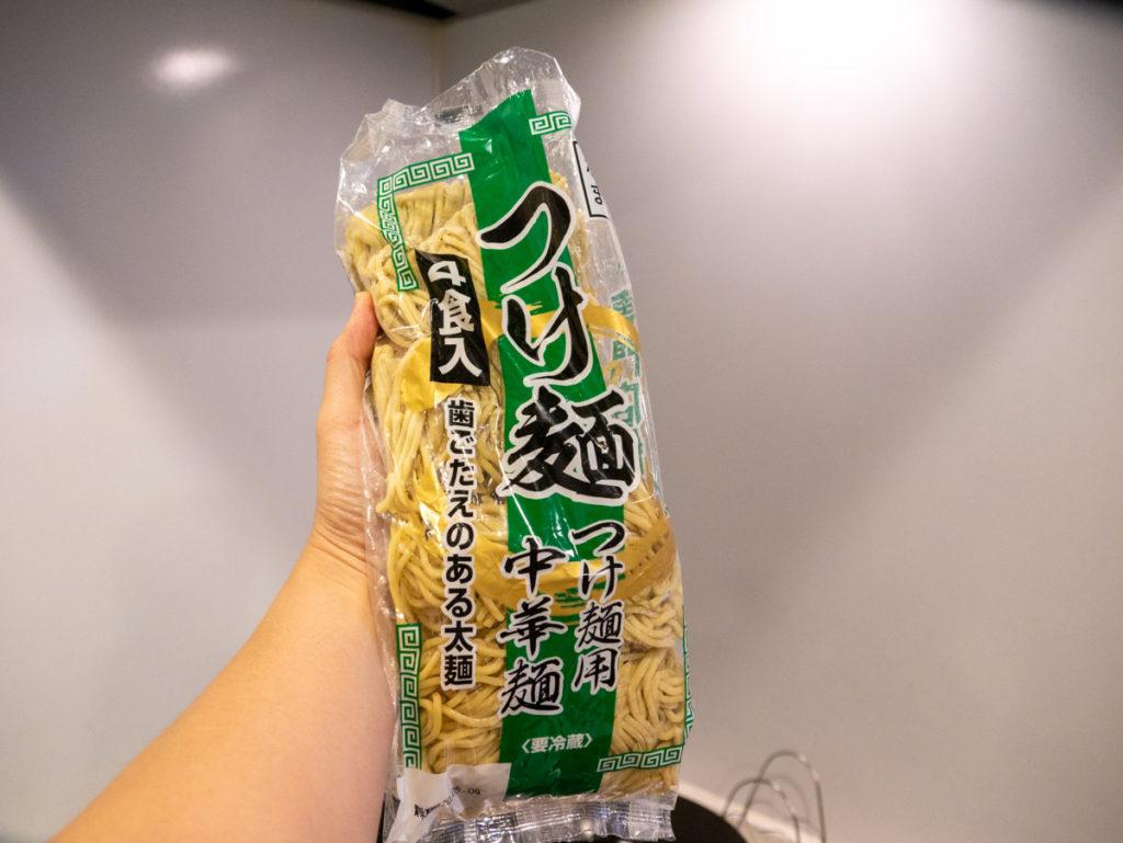 つけ麺用中華麺