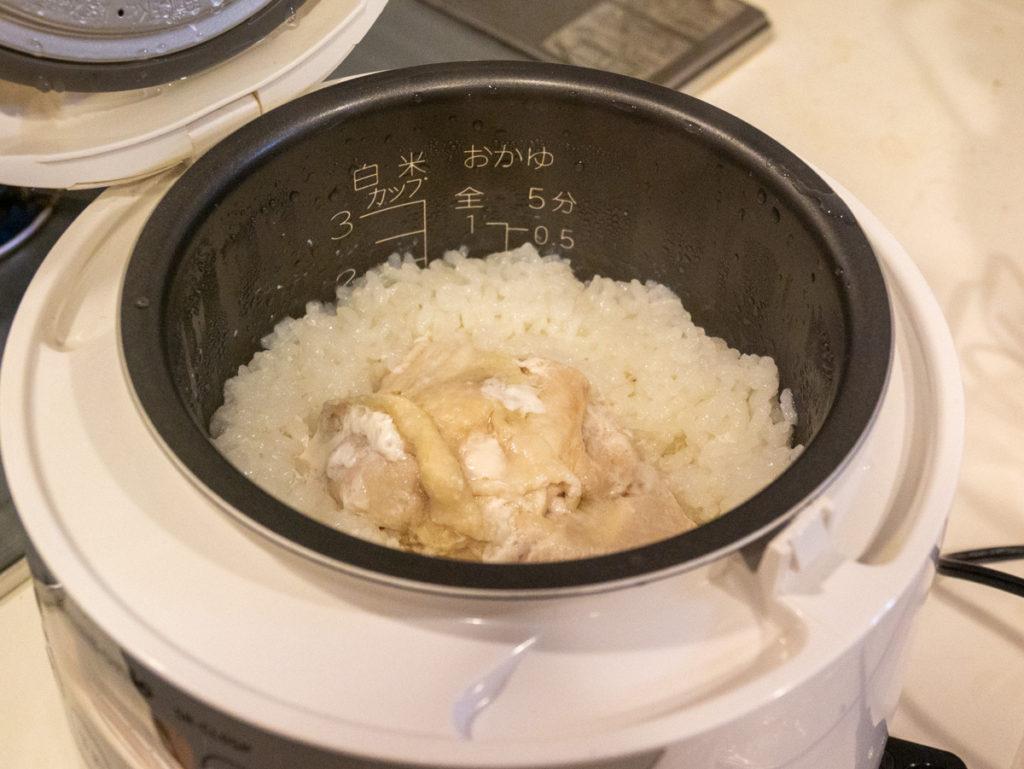 炊飯器でサラダチキン