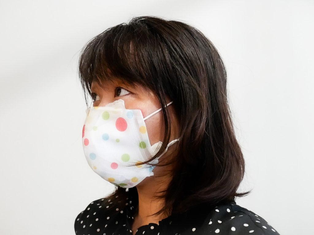 HKmask(香港マスク)を洗濯ネットで作った
