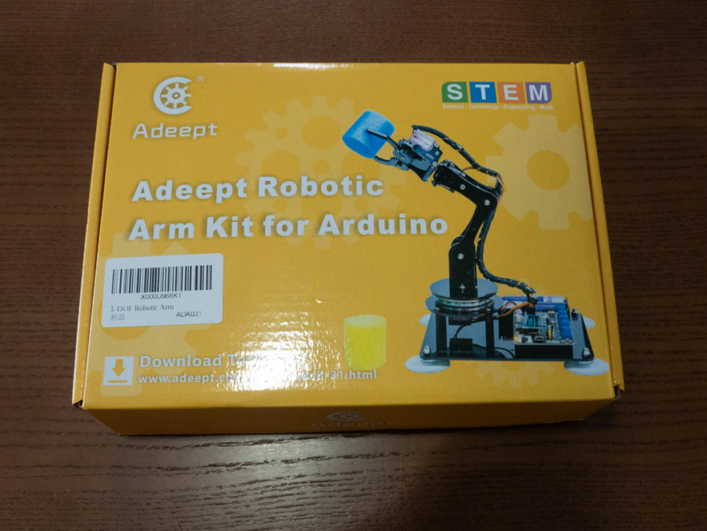 Adeept Robotic Arm Kit for Arduino