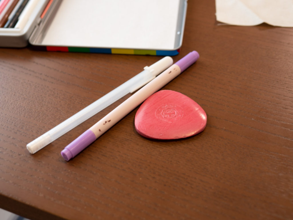 三角チャコ、印付けペン、アイロンチャコペン
